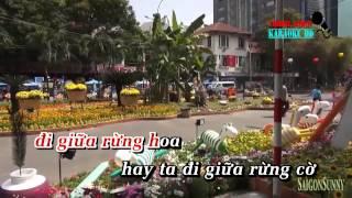 Mùa Xuân Trên Thành Phố Hồ Chí Minh - Mây Trắng Karaoke Beat
