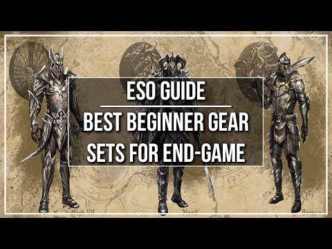 ESO Best Beginner Gear Sets for End Game