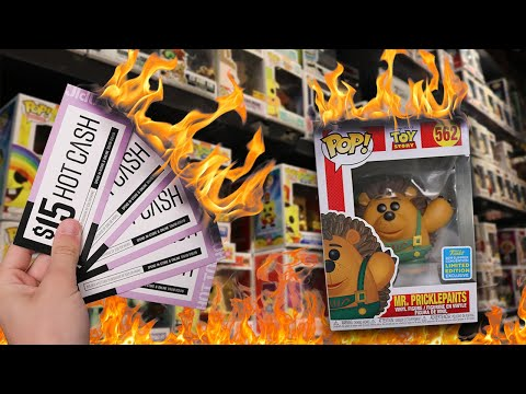 Hot Cash Funko Pop Hunting  $300 Spent at Hot Topic