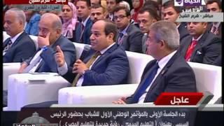 بالفيديو.. السيسي: أنا مسئول عن عدم سقوط الدولة
