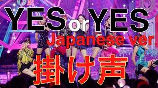 【掛け声】TWICE YES or YES -Japanese ver.- これを覚えてライブで盛り上がろう!