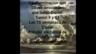 Las Setenta Semanas de Daniel, v8