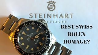 Best Swiss Made Rolex Homage Watch? - Steinhart Ocean One
