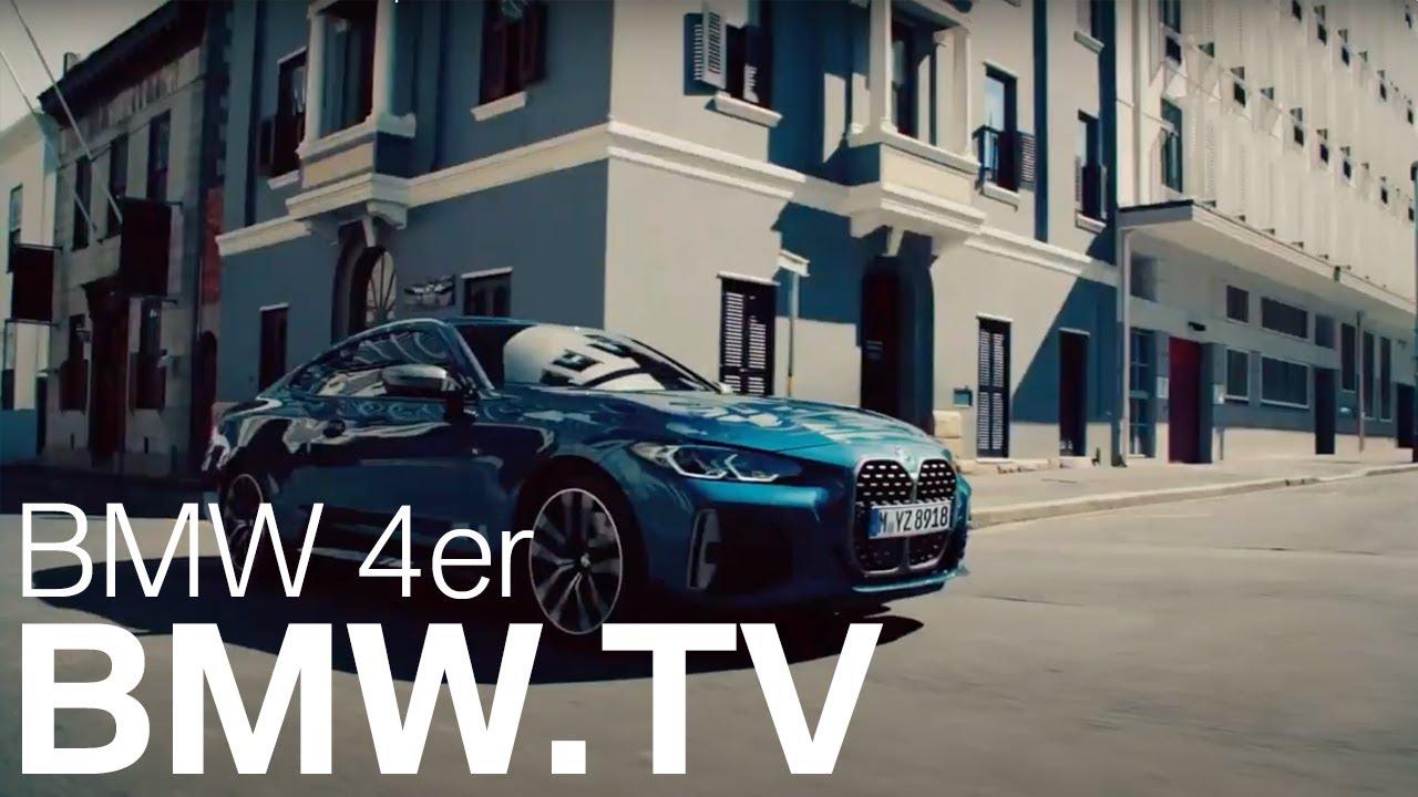 THE 4. Das neue BMW 4er Coupé.