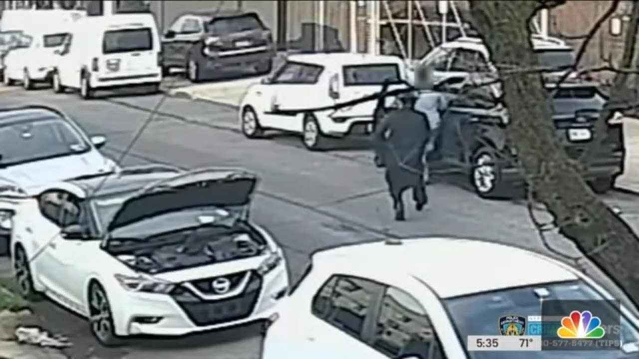 Download Shocking Video Shows Disguised Killer Shoot Man in Broad Daylight   NBC New York