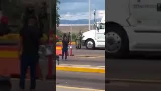 ENTREGA DE OVIDIO GUZMÁN LÓPEZ, DESPUÉS DEL ATAQUE ARMADO EN CULIACÁN SINALOA, 17 DE OCTUBRE 2019