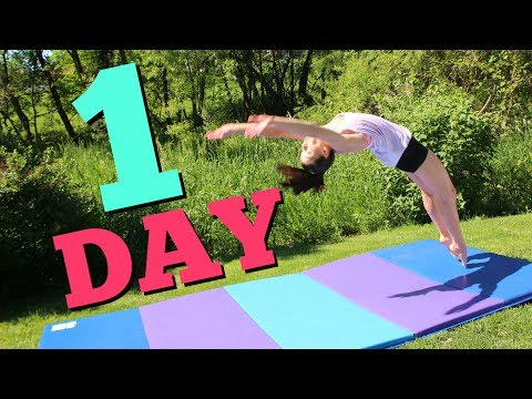 How to get your Back Handspring in ONE Day