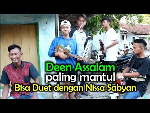 Deen Assalam - Nissa Sabyan Versi Pengamen Montal Mantul, Dijamin Bikin Penonton Terpukau video download