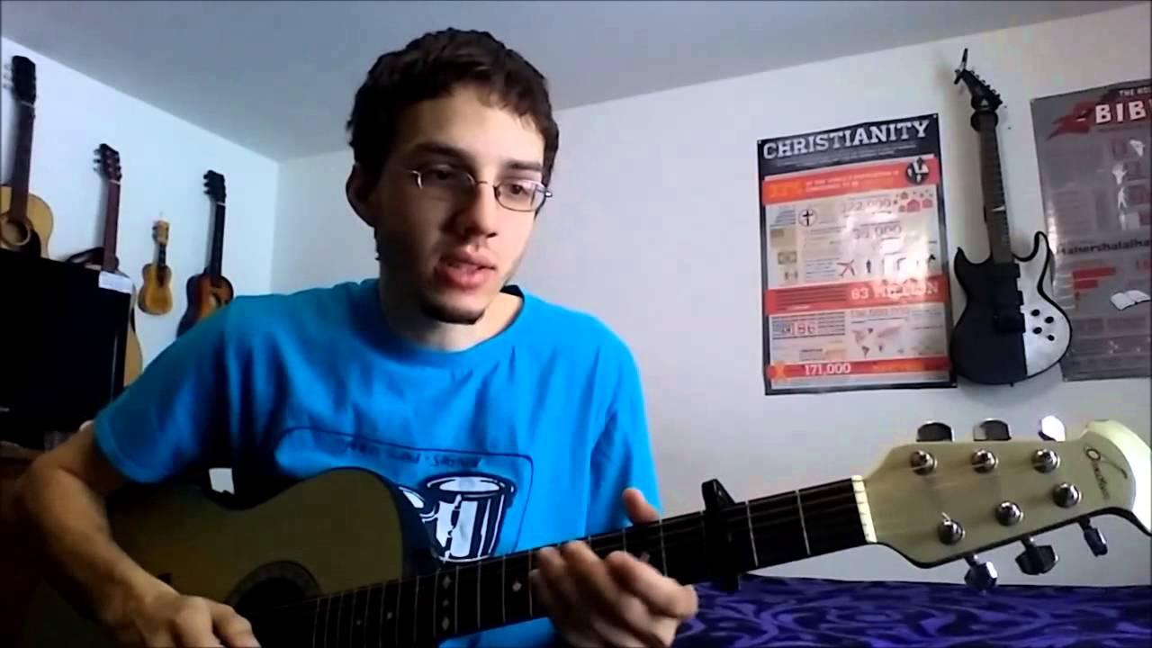 Guilty Newsboys Guitar Tutorial Youtube