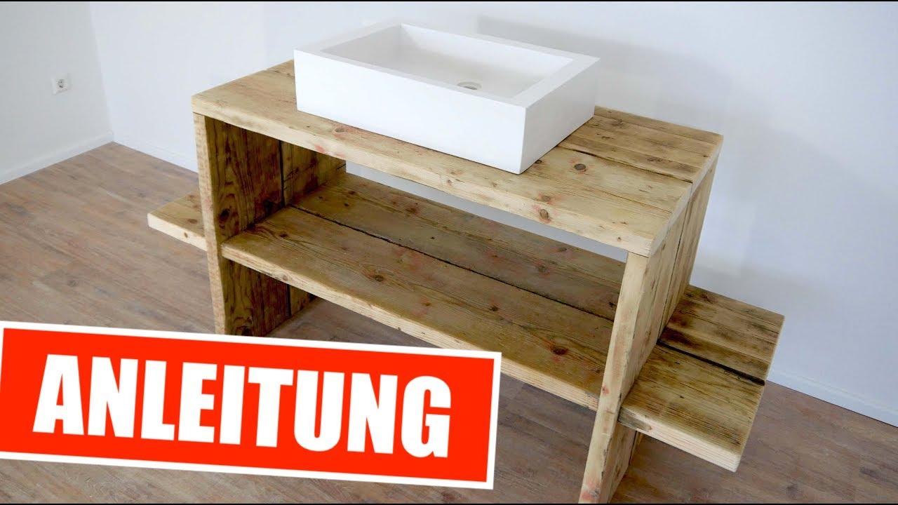 waschtisch f r drau en selber bauen tisch f r. Black Bedroom Furniture Sets. Home Design Ideas