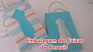 Embalagens Criativas com Caixas de Cereais