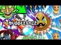 The agario king is back  bubblebalz vs 9999 noobs sick doublesplit destructions  popsplits
