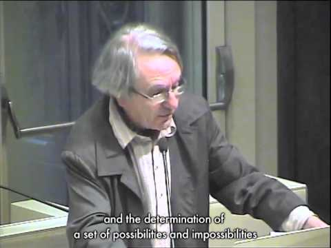 Jacques Rancière / In What Time Do We Live? / as part of the lecture series 'The State of Things'