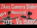 2 Axis Motorized camera slider for 20$ | DIY | Arduino project#5