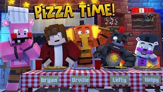 Minecraft FNAF 6 Pizzeria Simulator - PIGPATCH'S COOKING SHOW! (Minecraft Roleplay)