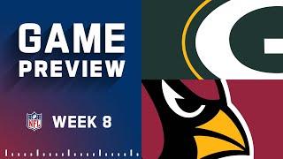Green Bay Packers vs. Arizona Cardinals   Week 8 NFL Game Preview