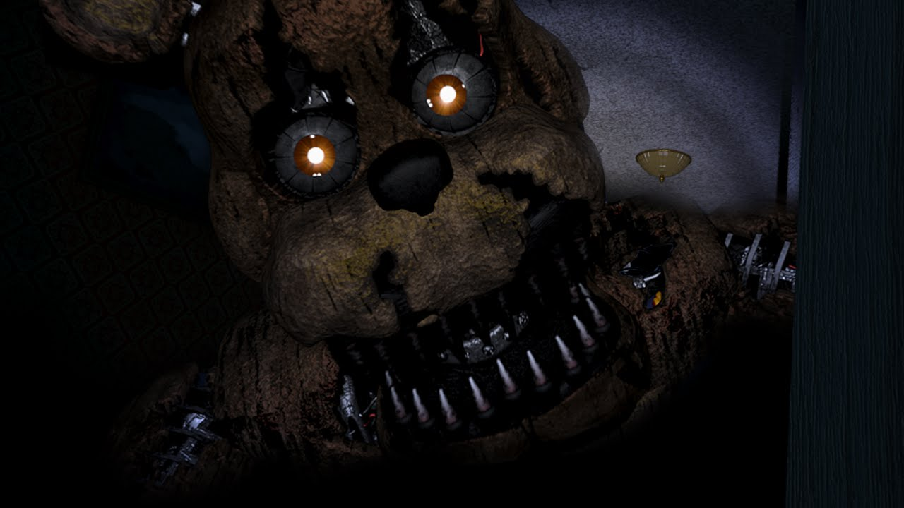 Flashlight Run Out Of Power Jumpscare Fnaf4 Youtube