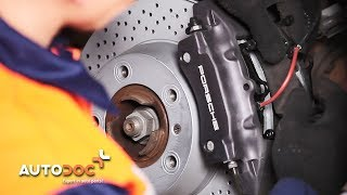 PORSCHE Autoreparatur-Video