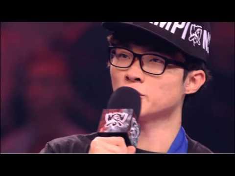 Faker english interview for his fans- Worlds 2015 - SKT vs KOO