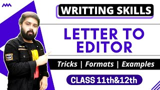 Letter To The Editor In Hindi Class 10
