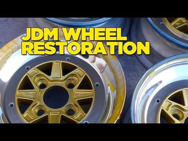 JDM Wheel Restoration