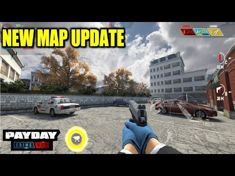 *NEW* PAYDAY CRIME WAR MOBILE NEW MAP UPDATE GAMEPLAY 60 FPS