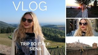 VLOG: Trip To Italy Part 1: Siena(Hello everyone! I know it has been a while since I last posted, but now I'm sharing videos from my lovely trip to Italy :) Enjoy! Let's be friends! Instagram: ..., 2015-11-20T12:35:52.000Z)