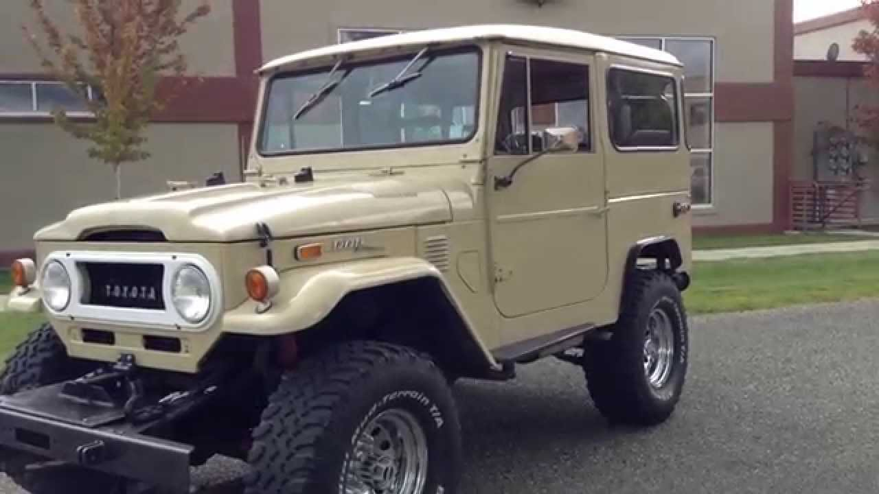 test drive 1972 toyota fj cruiser sold at the sun valley auto club youtube. Black Bedroom Furniture Sets. Home Design Ideas