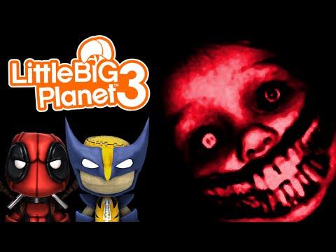 PLAY.CREATE.DIE   Little Big Planet 3 Multiplayer (22) Sackboy.Exe Creepypasta