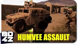 Squad v7.0 ► Urban Humvee Assault (Round Highlight)
