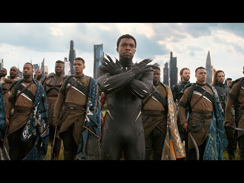 "Black Panther - Fight/Close Combat Quarters & Skills (+ ""Avengers: Endgame"") [IMAX® HD]"