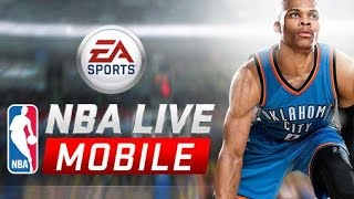 NBA Live Mobile-  Choking