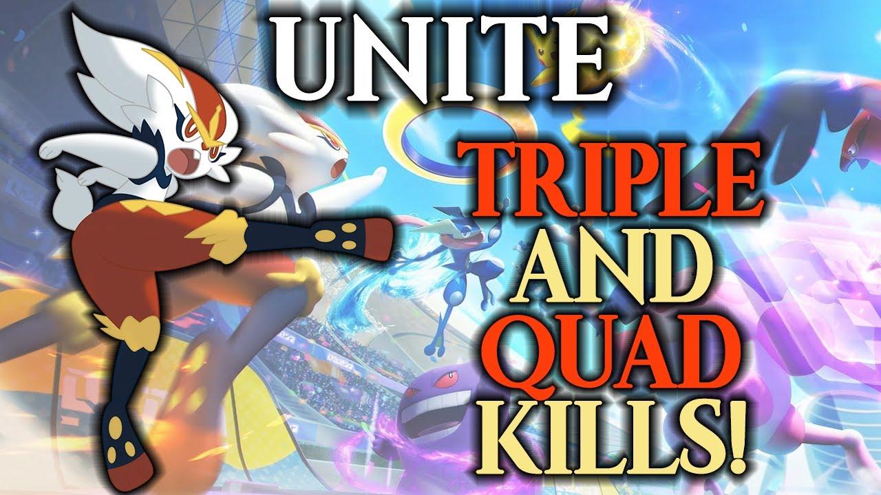 Unite: QUAD KILLS w/ Cinderace!!!