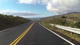 17 minute drive through Marin County along HWY 1 (gopro hero 3 test)