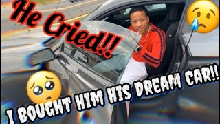 I Bought My Brother His DREAM CAR!! | *EMOTIONAL*