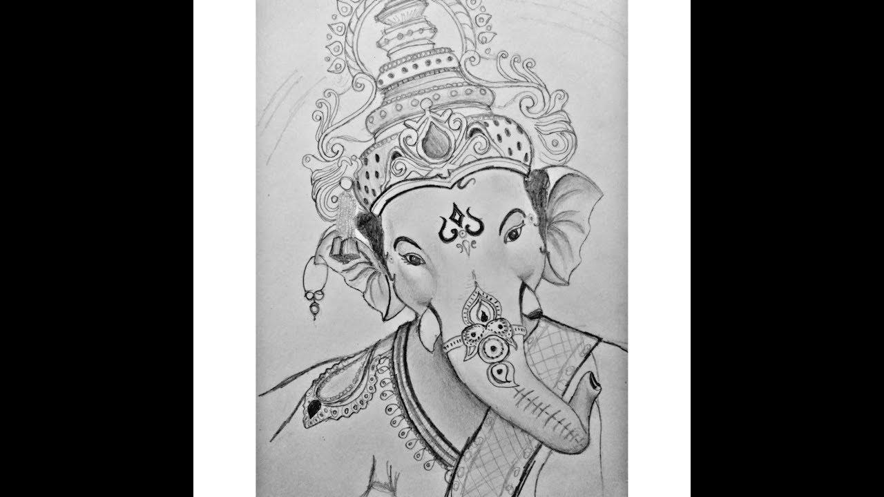 Drawing Ganpati Bappa It S Arttrap Youtube
