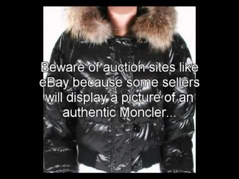 authentifier doudoune moncler