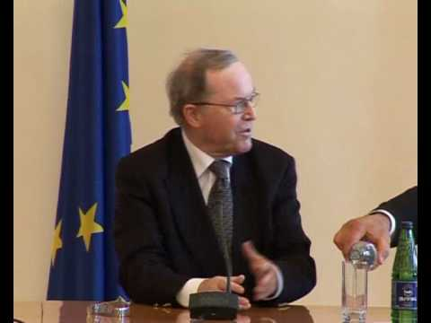MEETING WITH  EUROPEAN PEOPLE'S PARTY PRESIDENT WILFRIED MARTENS