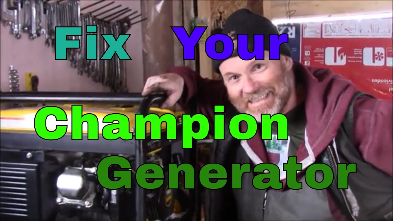 Champion Generator Repair, Most Common Engine Problems