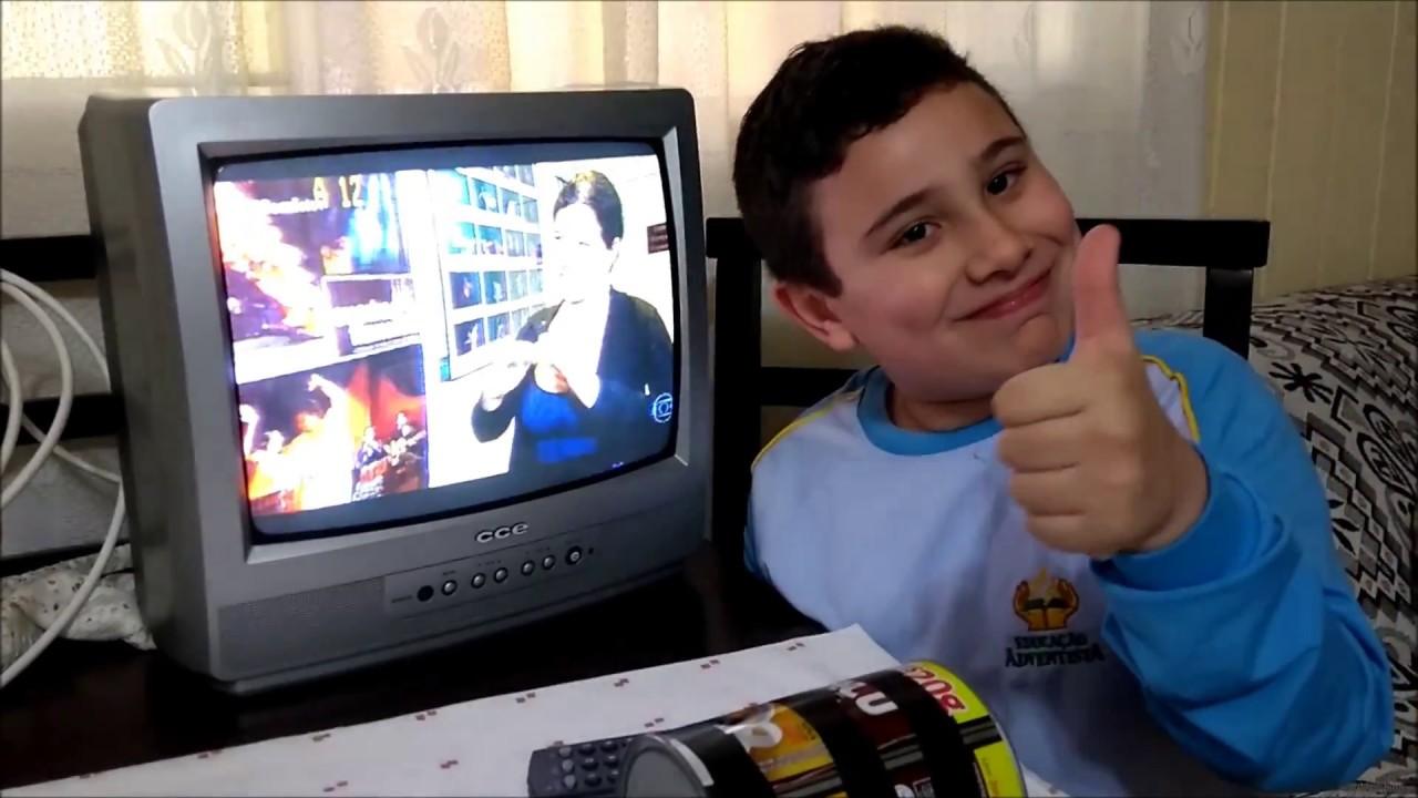 Como Fazer Antena Tv Com Uma Lata Youtube