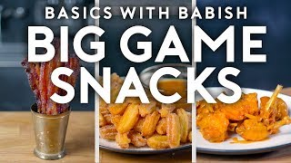 Download Big Game Snacks | Basics with Babish Mp3 and Videos