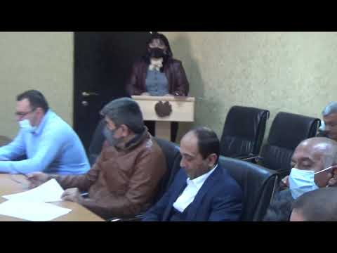 Ավագանու նիստ թիվ 7 հերթական նիստ, 14/10/2020