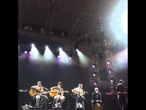 Soundcheck BSB en Wuhan - China - 16 Abril 2015