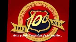 Azul y Rojo tradición de mi región - Cd 100 Añox De Tradixion Antioqueña - RXN