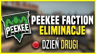 ???? ELIMINACJE do PeeKee Faction! | ONLINE'GODS vs Pewność$iebie | Komentuje: Ekipa PeeKee - Na żywo