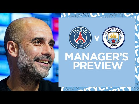 'Enjoy the pressure' Pep Guardiola message to Manchester City players ahead of Paris Saint-Germain