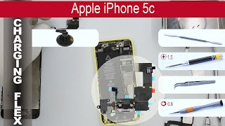 How to replace 🔌 Lightning port & 🎤 Microphone 🍎 Apple iPhone 5C (A1532, A1456, A1507, A1529)(How to replace Charging flex Apple iPhone 5C by himself. Replacement Lightning Port iPhone 5C (A1532, A1456, A1507, A1529) at home with a minimal ..., 2015-11-22T05:23:22.000Z)