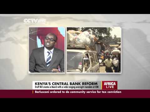 George Bodo Interview on The Central Bank of Kenya