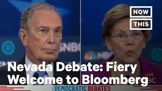 Candidates Attack Bloomberg On All Sides At Nevada Dem Debate | Nowthis