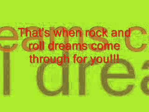 jim steinman - rock and roll dreams come through - w/ lyrics